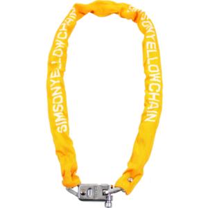 Simson kettingslot Yellow chain 7x120